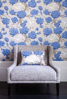 Tapete Japonerie   Designtapete Von Osborne #asiatisch #floral #zweige # Wohnzimmer #schlafzimmer