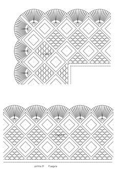 Patrobolillos : PICADOS DEL MES-2019 Bobbin Lace Patterns, Needle Lace, Costume, Diy Crafts, Embroidery, Blog, Bobbin Lace, Fabrics, Crocheting