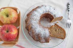 Apfel Gugelhupf mit Dinkelmehl und Mandeln | Bärenhunger | Bloglovin'