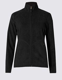 Anti Bobble Fleece Jacket   M&S