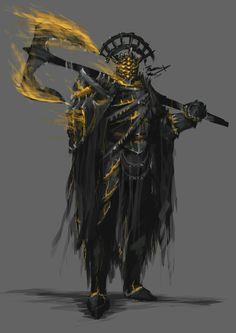 Original Drawn by Thomas Shirley Dungeons And Dragons Characters, Dnd Characters, Fantasy Characters, Fantasy Character Design, Character Design Inspiration, Character Art, Fantasy Armor, Dark Fantasy Art, Dark Souls