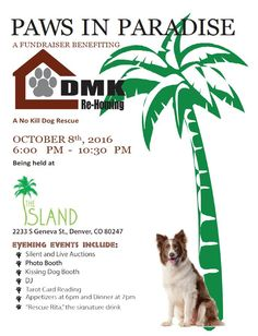 2nd Annual Paws in Paradise