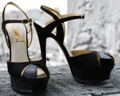 39ed56a23 Such beautiful YSL heels! I love shoes oh so much!