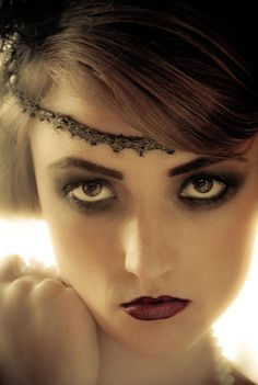 1920's Makeup LOVE GREAT GLAM