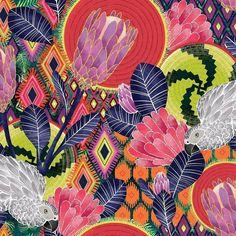 "mz_design_studio   Please vote for me today on spoonflower.com ""African protea"" by michaelzindell in the Brooks museum African art"" challenge. Link in bio, #surfacepattern #surfacedesign #printandpattern #patterndesign #textile #textiledesign #art4hire #artlicensing #freelancedesigner #freelanceartist #illustratorsofinstagram #illustration #spoonflowercontest #spoonflowered #spoonflowerdesignchallenge #spoonflower #illustrationartists #illustrator #patternobserver #thepatterncurat..."