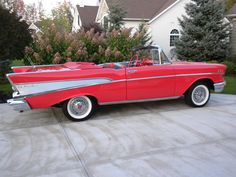 I have always had a love for old classic cars. The 1957 Chevy is one i would love to renovate.
