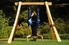 going to build a yoga swing frame for my aerial swing http://whymattress.com/the-ultimate-yoga-guide/