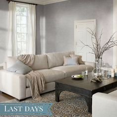 Final days to save during the Anniversary #Sale. Save up to 40% through Aug 31. [Link in bio to shop the shot] #instadesign #homestyle #livingroomgoals