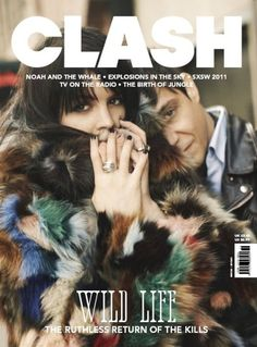 the kills on the cover of clash