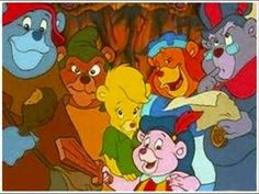 The Gummy Bears!! No one remembers this show in my family! lol We use to watch it all the time! aha