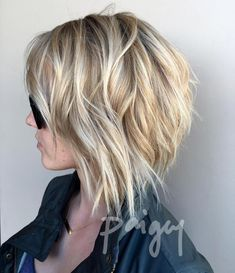 When I get the courage to chop the back of my hair again .... . . .