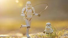 Stormtrooper father and son by Kristina Alexanderson