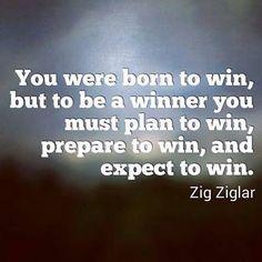 Born To Win quote - Sage Buddha