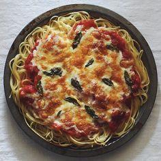 Spagetti Pizza Margerita