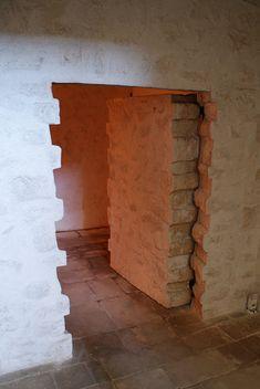 Secret brick door