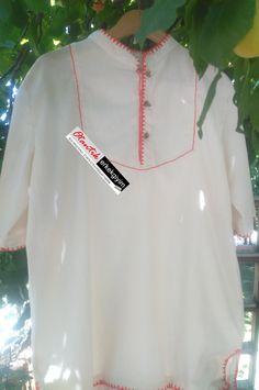 Şile Bezi Krem Otantik Erkek Gömlek - OG170517   Otantik Erkek Giyim