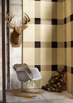 CUIR AU CARRE, agence de décoration propose un nouveau concept de décoration via ses panneaux de cuir prêts à poser.