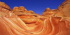 The Wave, a rock formation in Arizona
