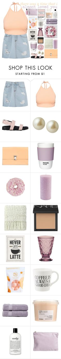 """☾ damiah's set contest day three"" by thundxrstorms ❤ liked on Polyvore featuring NLY Trend, Balenciaga, Carolee, Proenza Schouler, Pantone, Root Candles, Company C, NARS Cosmetics, La Rochère and Me! Bath"
