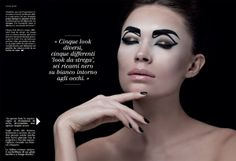 BeWithced for Trucco & Belleza by Roy Peri, via Behance