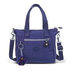 Mini bolsa azul AARICIA Kipling