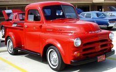 1952 Dodge Pick-Up Truck!  I Love Old Trucks!!!!! I Especially Love This One Because Of Something Very Special That Happened Today!!!!! :)