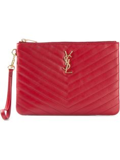 #saintlaurent #clutches #bags #red #monogramme #womens www.jofre.eu