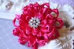 Gorgeous Satin Handmade Flower