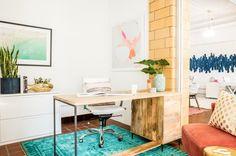Decorist COO office with @graymalin print.