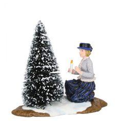 Luville - Frau Brigitte with Christmas Tree