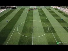 Centre Back's Specific Training - Created by Carlos Alós Soccer Shooting Drills, Passing Drills, Football Youtube, Centre, Coaching, Training, Football Soccer, Work Outs, Excercise