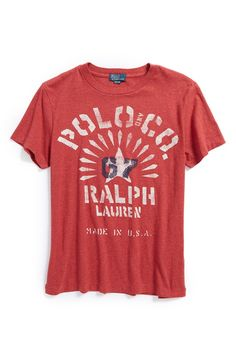 Ralph Lauren Graphic T-Shirt (Big Boys)
