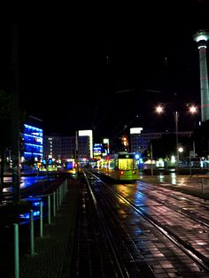 #Berlin at night