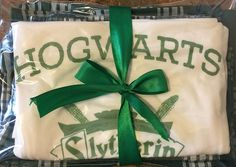 Harry Potter #Slytherin Quidditch team captain House lounge wear gift set pjs pj pajama party college dorm fandom vacation