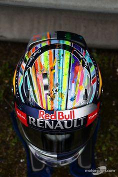 Another Helmet for Sebastian Vettel! Maybe he should stick to one design!