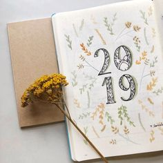 My Bullet Journal Setup 2020 Bullet Journal Cover Page, Bullet Journal 2019, Bullet Journal Inspo, Journal Covers, Journal Pages, Journal Diary, Bullet Journals, Journal Layout, Cover Pages
