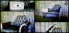 Forny enkelt møbler og interiør med kalkmaling fra Vintro. Her har en gammel telefonbenk fått ny look med Vintro kalkmaling. Midnight på sete og Paloma over Midnight og Candyfloss på resten. Til slutt forsegling i form av blank voks og litt mørk voks for effekt. Klar for en ny glansperiode!  http://www.bravedesign.no/