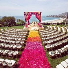 New Indian Wedding chairs Design Ideas - Tiny Details DIY Draping You are in the right place about small wedding ceremony decorations Here we offer you the most beautiful pictures about the weddin Wedding Aisles, Wedding Mandap, Wedding Chairs, Wedding Table, Wedding Runners, Wedding Receptions, Wedding Bells, Wedding Dresses, Indian Beach Wedding