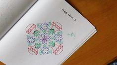 Simple muggulu designs with dots - 17 dots 3 times 3 Source by Rangoli Kolam Designs, Indian Rangoli, Muggulu Design, Origami Paper, Paper Design, Hair Beauty, Dots, Times, Embroidery
