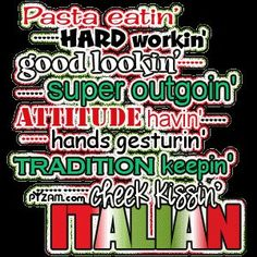 This is what it's like to be Italian