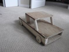 This is my latest wooden contraption. It is a toy truck for kids . it is very easy to make so dont buy toys make them with cobalt420'S DIY kids toy truck.