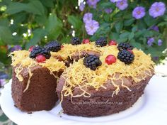 Delicia de Chocolate e Café / Chocolate and Coffee Cake