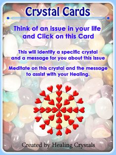 Add online Crystal Cards to your website today! - About Us - Information About Crystals As A Healing Tool
