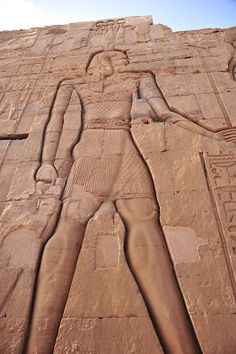 The Temple of Kom-Ombo, A relief of  Ptolemy VI