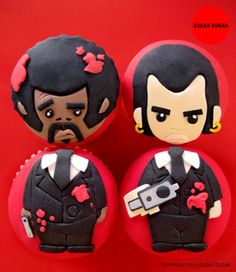 Pulp Fiction Cupcakes