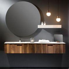 AQUAVENTO meuble salle de bain design chªne noir