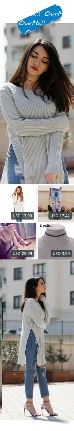 This is Melike Gül's buyer show in OurMall;  1.Lady Knitwear Women Casual Sweater Female Autumn Winter Knitted Plus 2.2016 Casual Holes Ripped Jeans For Women Denim Blue Trousers Female Retro Denim Korean Style Pencil 3.Pointed Toe High Heel Pumps Women Shoes Red Shallow Cr... please click the picture for detail. http://ourmall.com/?ieUbQj