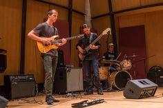 Curtis Madigan - guitar, Garrett Sayers - bass, Adam Deitch - drums