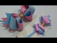 carnival sunglasses / óculos d Diy Hair Bows, Making Hair Bows, Ribbon Hair Bows, Diy Bow, Diy Ribbon, Homemade Bows, Hair Bow Tutorial, Boutique Hair Bows, Fabric Bows