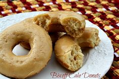Mommy's Kitchen: Biscoff Cake Donuts